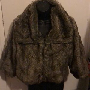 Cute and soft Joie Fake Fur jacket
